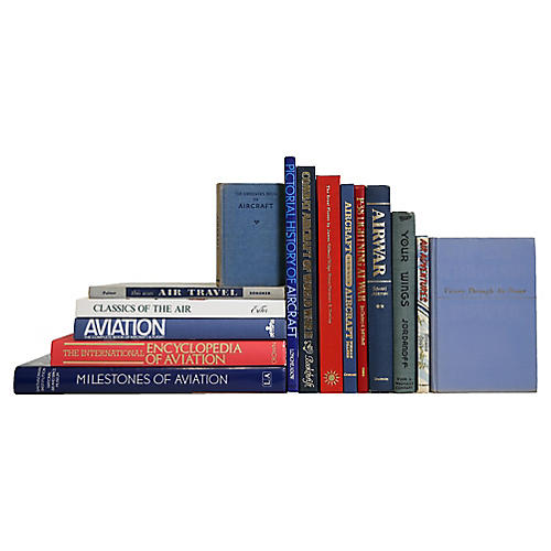 Flying Free Aviation Lover's Book Set