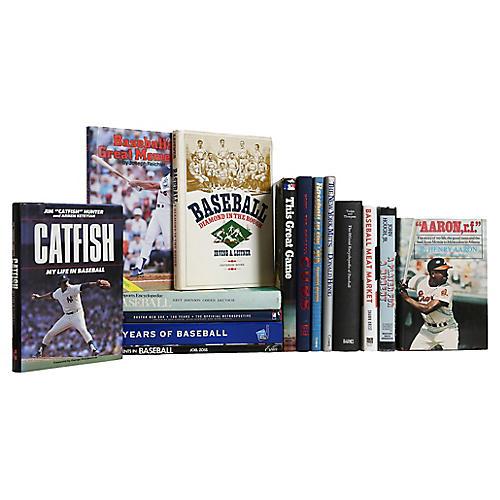 Grand Slam Baseball Lovers Book Set