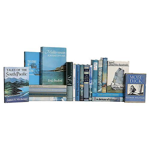 Ocean Spray Nautical Book Set, (S/20)