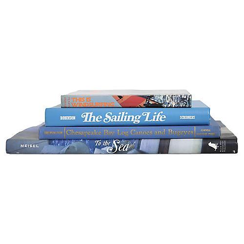 Sailing Away Coffee Table Set, s/4