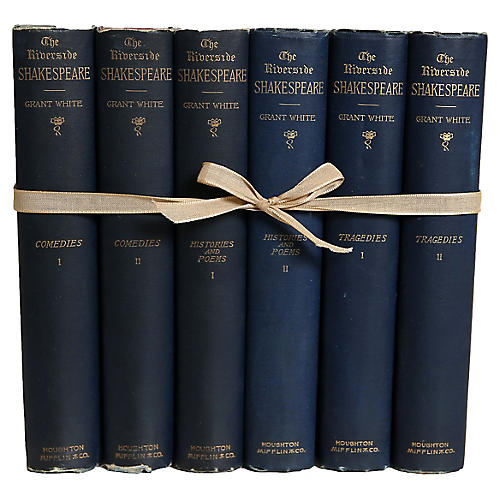 Antique Sapphire Shakespeare Gift Set