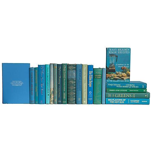Carolina & Sage Cookbook Set, (S/20)
