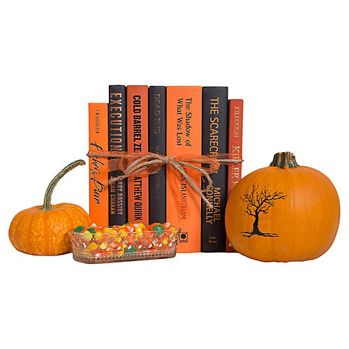 Spooky Nights Book Gift Set, (S/7)