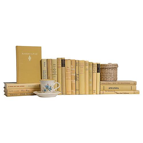 Buttercream Book Set, (S/20)