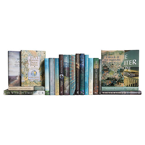 Curated Dust Jackets Book Set, S/20