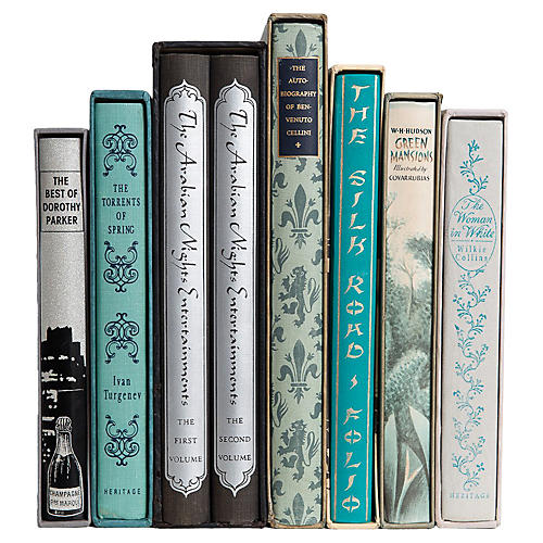 Boxed Beauties Book Set, S/8