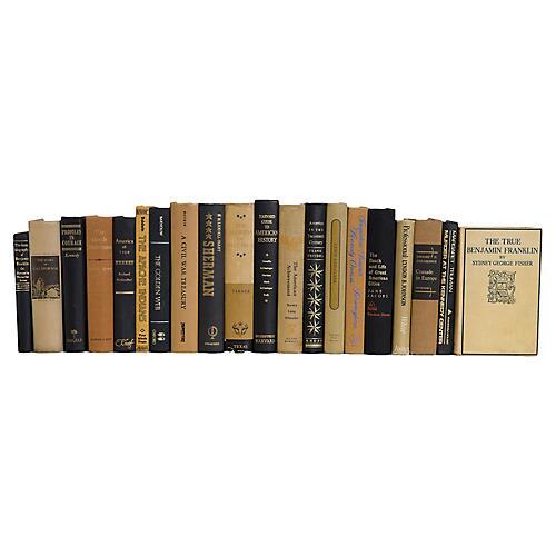 Onyx & Sand American History Book Set, (