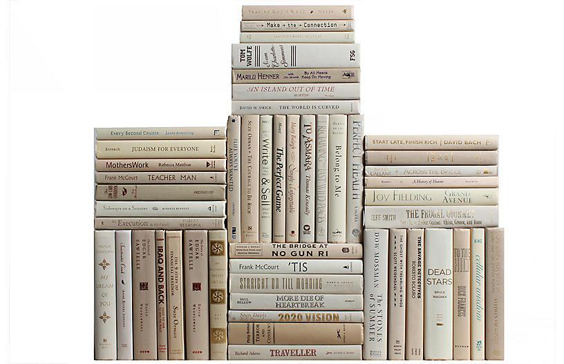 Modern Beach Book Wall, S/50