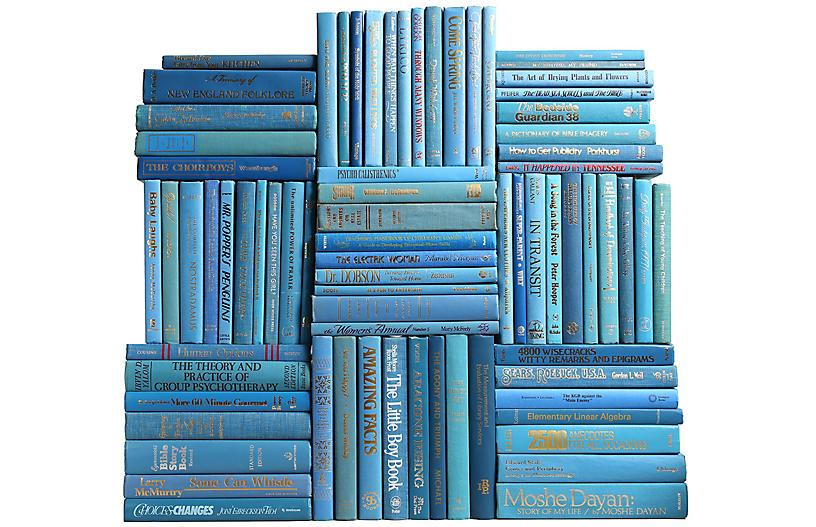 Retro Ocean Book Wall, S/75