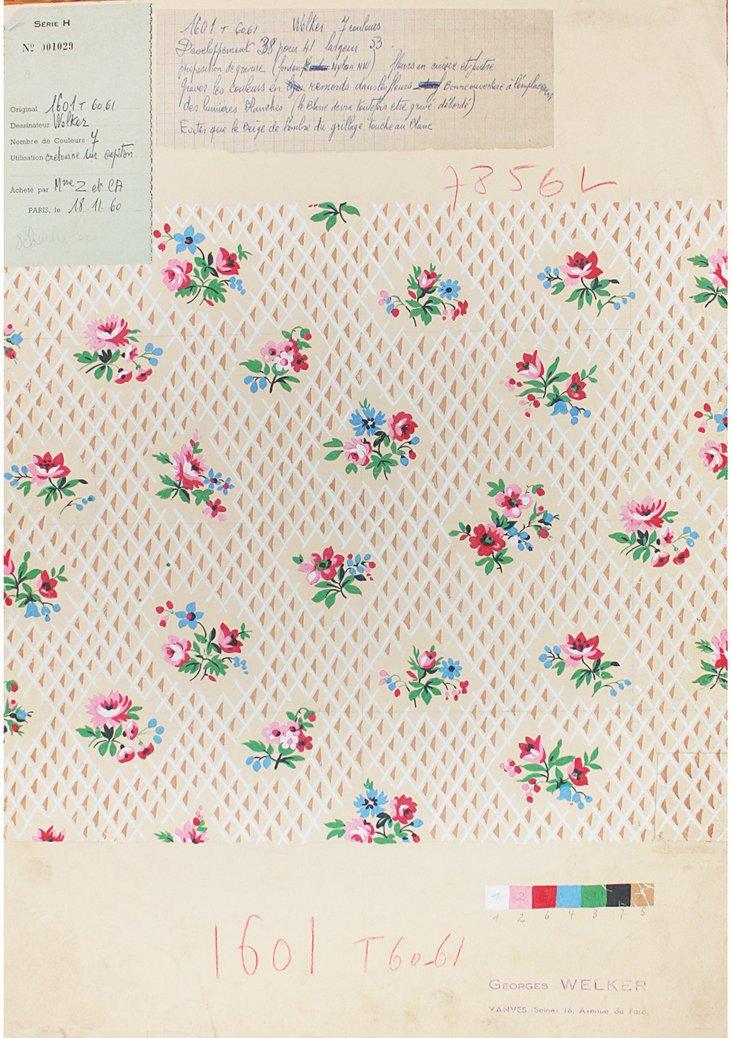 Welker    Textiles Prototype, 1960