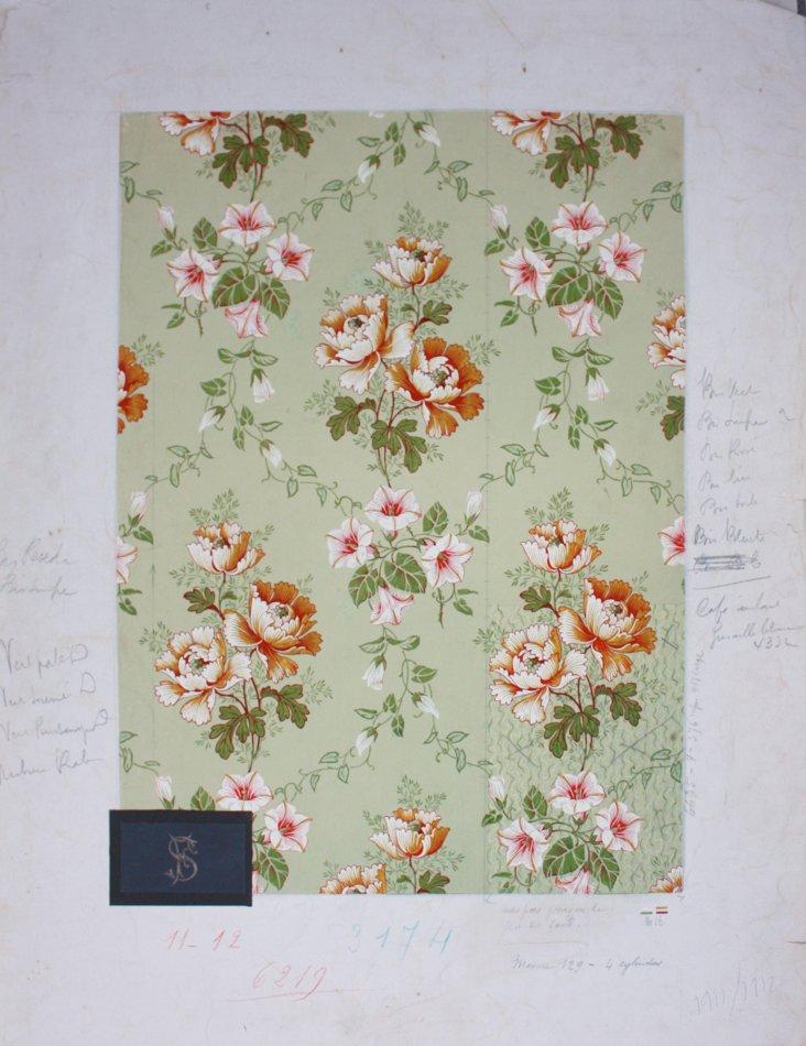 Floral Textiles Prototype, 1911
