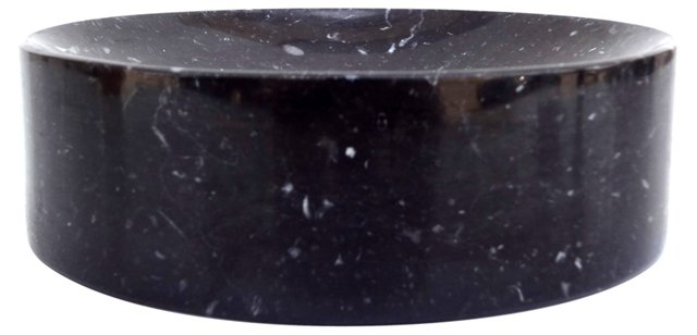 Black Marble Change Dish