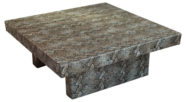 Faux-Python Coffee Table