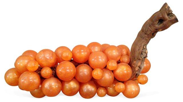 Orange  Lucite Grapes