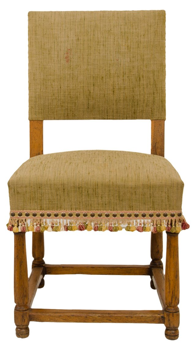 Antique Louis XIII-Style Side Chair