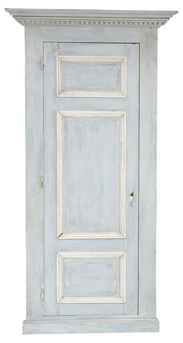 19th-C. French Corner Cabinet