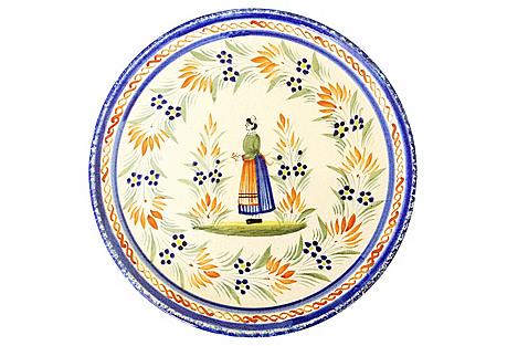 Quimper Serving Plate