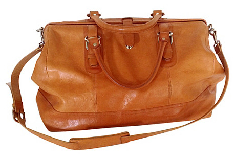 Italian Leather Satchel