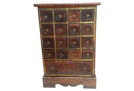 Asian-Style Apothecary Chest