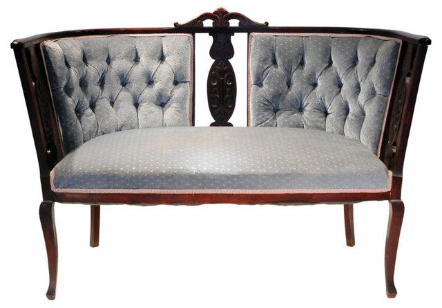 Upholstered Settee