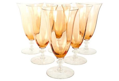 Amber Glasses, S/6