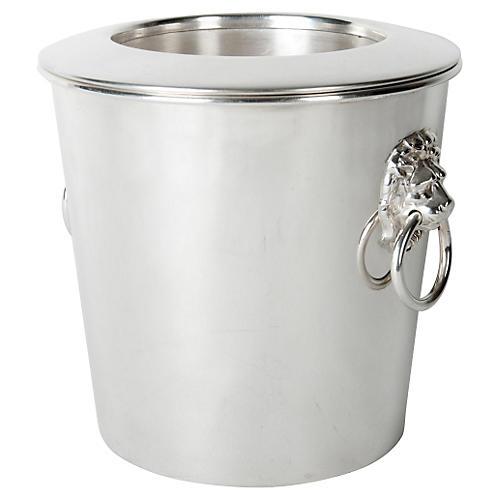 Vintage Pewter Wine Cooler/Ice Bucket
