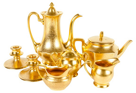 Gold Tea & Coffee Service