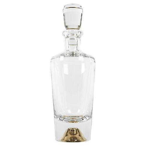 European Crystal Whiskey Decanter