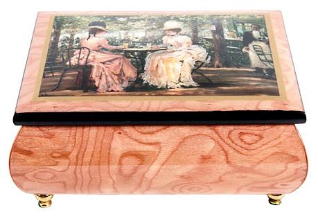 Wood Italian Music Box