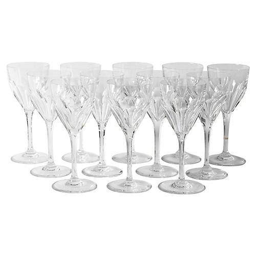Saint Louis Glassware, S/12