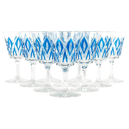 Crystal Glassware, S/18