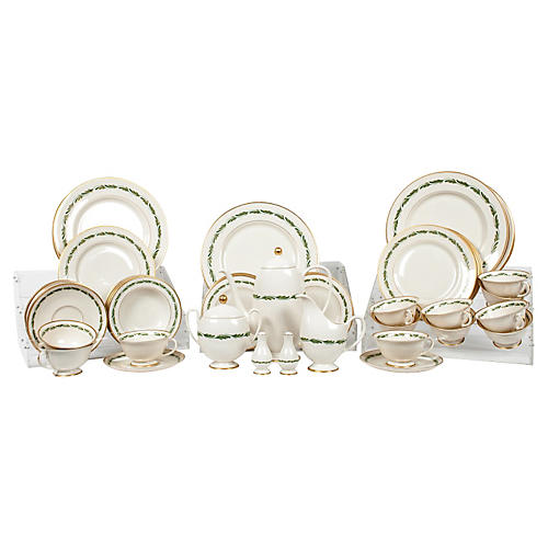 Dinnerware Set, 75-Pcs
