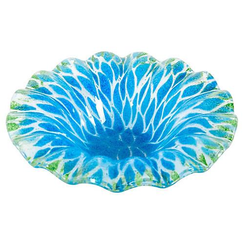 Midcentury Art Glass Decorative Piece