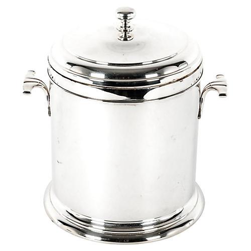 Italian Silver-Plate Ice Bucket