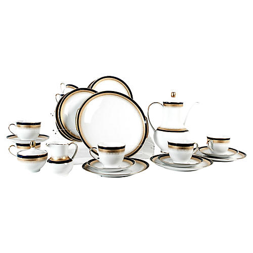 German Luncheon Set, 28-Pcs