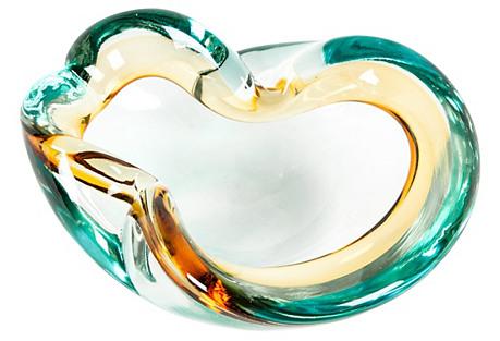 Midcentury Glass Bowl