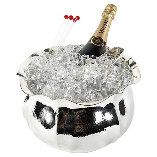 Silver-Plate Wine Cooler