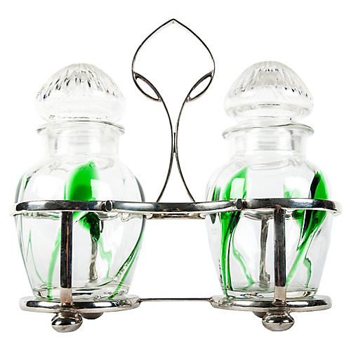 Sheffield Condiment Set, 3 Pcs