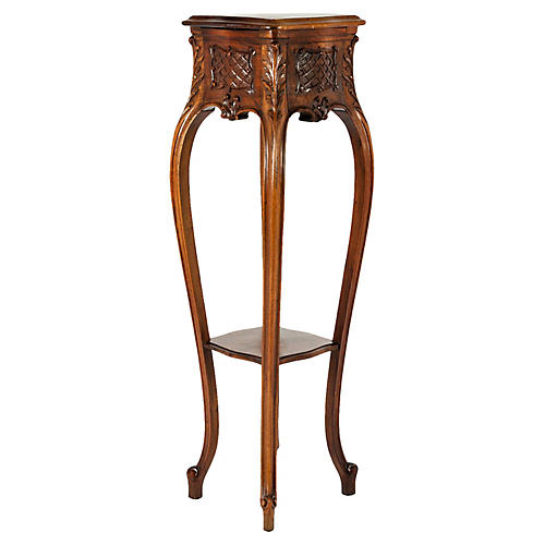 Antique Hand-Carved Fern Stand