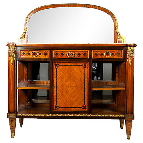 Antique French Louis XVI Style Sideboard