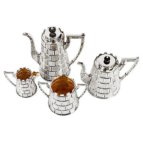 4-Pc Antique Limited Edition Tea Set