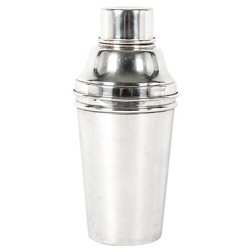 English Silver-Plated Shaker
