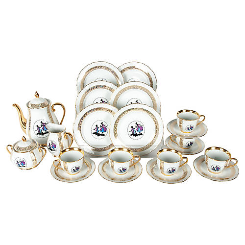 Tea & Coffee Set, 21 Pcs