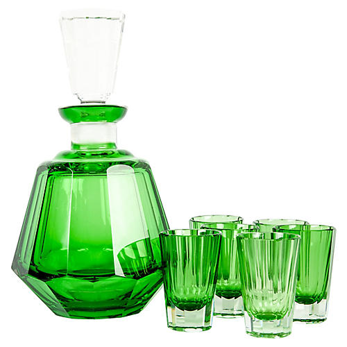 Decanter Set, 8 Pcs