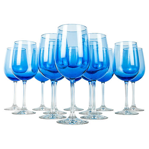 Wineglasses, S/12