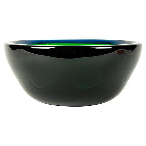 Green Murano Bowl