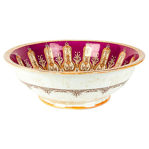 Antique English Bowl