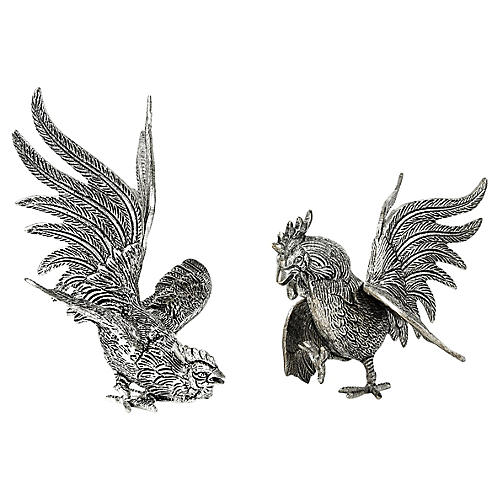 English Roosters, 2 Pcs