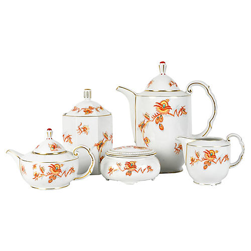 Tea & Coffee Service Set, 9 Pcs