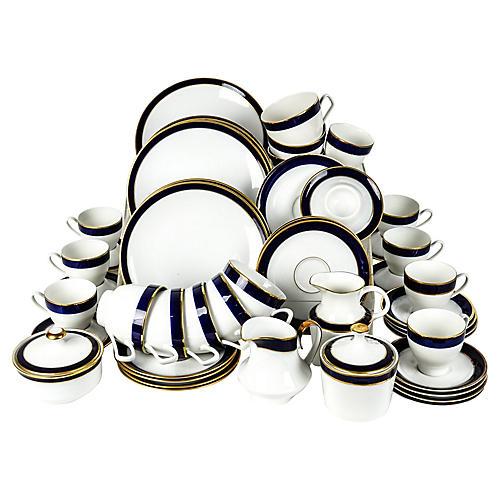 Porcelain Brunch Service, 39 Pcs